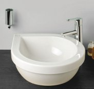 Silverdale Richmond 435mm Teardrop Countertop Basin