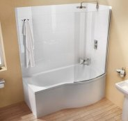 Cleargreen Ecoround 150 Shower Bath