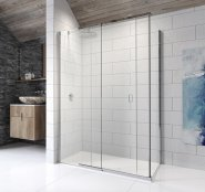 Kudos Pinnacle 8 1800mm Sliding Door for Corner