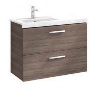 Roca Prisma 900mm Basin & Unit (2 Drawers)