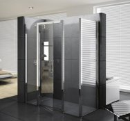 Novellini Kuadra G+2F Extended Hinged Door Enclosure
