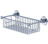 Burlington Bathrooms Chrome Deep Soap Basket