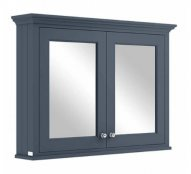 Bayswater 1050mm Stiffkey Blue Mirror Wall Cabinet