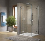 Novellini Brera A Corner Entry Hinged Shower Enclosure
