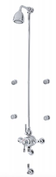 Perrin & Rowe Contemporary Shower Set 8