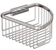Britton Bathrooms Large Corner Wire Basket