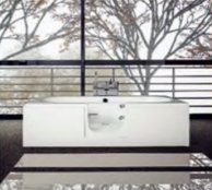 Cortega Double Ended Walk-in Bath