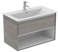 Ideal Standard Concept Air 800mm Vanity Unit with Open Shelf