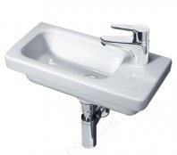 Essential Ivy 45cm Slimline Basin - Right Hand