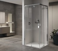 Novellini Opera A Corner Entry Slider Shower Enclosure