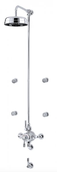 Perrin & Rowe Contemporary Shower Set 7