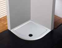 Novellini Low Profile Offset Quadrant 1000 x 800mm Shower Tray