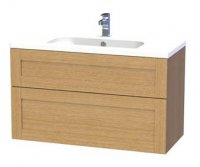 Miller London 100 Vanity unit with 2 drawers