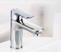 Francis Pegler Andreu Mono Basin Mixer Tap With Click Waste - Chrome