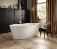 The White Space Como Freestanding Bath 1600 x 800mm