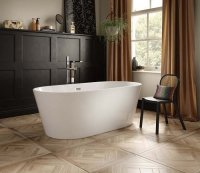 The White Space Como Freestanding Bath 1700 x 800