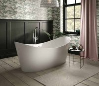 The White Space Sulis Freestanding Double Ended Bath - 1800mm x 800mm
