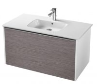 Sottini Simeto 90cm Wall Mounted Basin Unit
