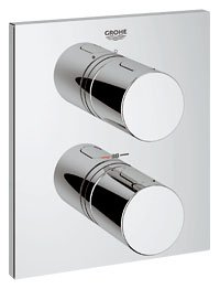 Grohe Grohetherm G3000 Cosmopolitan Square Shower Trim