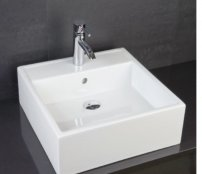 RAK Sit On Basins 46cm 0 Tap Hole Nova Sit On Wash Basin