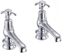 Burlington Anglesey Regent Basin Pillar Taps