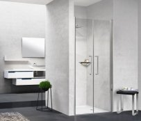 Novellini Young 2B Hinged Saloon Door Shower Enclosure
