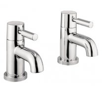 Crosswater Adora Fusion Bath Pillar Taps
