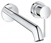 Grohe Essence Wall Mounted L-Size 2 Hole Basin Mixer