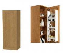 Miller London Storage Cabinet with Door Storage