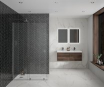 Aquadart Rolla 8 Sliding Wetroom 1200mm