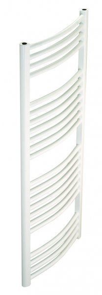 Redroom Elan Curved White 1800 x 500mm Towel Radiator