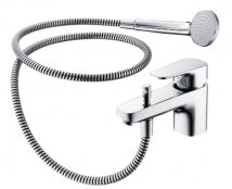 Sottini Tesino Single Lever Bath Shower Mixer With Shower Set