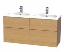 Miller New York 120 Vanity unit with drawers