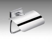 Inda Lea Toilet Roll Holder with Cover (Stock Clearance)