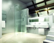 Merlyn 8 Series Wetroom Shower Wall