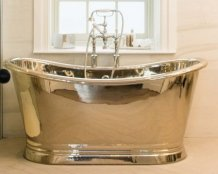 BC Designs 1700mm Nickel Boat Bath