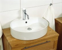 Miller Oval Ceramic Basin (173W-1)