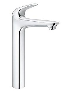 Grohe Eurostyle Solid Vessel Smooth Body Basin Mixer