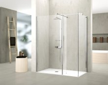 Novellini Kuadra HL Shower Panel with Fixed Deflector