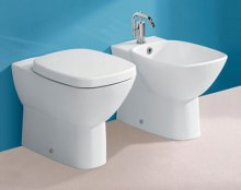 Silverdale Ascot Back to Wall Bidet