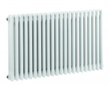 Bayswater Nelson Triple 1011 x 600mm White Radiator