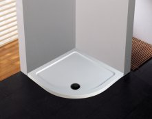 Novellini Low Profile Offset Quadrant 900 x 1000mm Shower Tray
