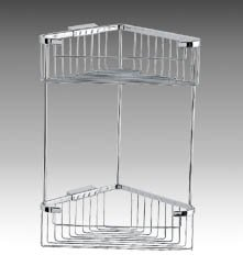 Inda Hotellerie Double Corner Soap Basket