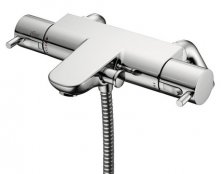 Ideal Standard Alto Ecotherm Bath Shower Mixer with Rim Mounted Legs