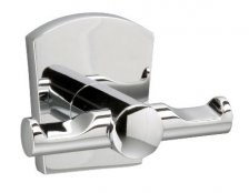 Miller Delphi Chrome Double Robe Hook