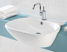 Silverdale Ascot 550mm Semi Countertop Basin