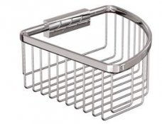 Britton Bathrooms Small Corner Wire Basket