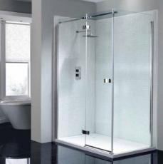 April Prestige Frameless Shower Range