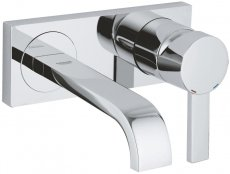 Grohe Allure Two Hole Wall Mounted Basin Mixer