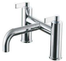 Ideal Standard Silver Bathroom Taps